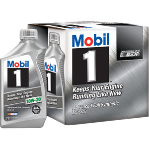 Mobil 1 Full Synthetic Motor Oil 10W-30