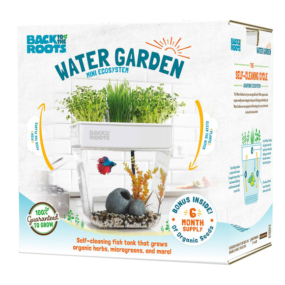 Back to the Roots Water Garden Mini Ecosystem