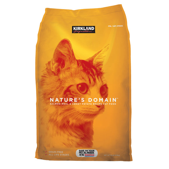 Kirkland Signature Nature's Domain Cat Food 18 lbs