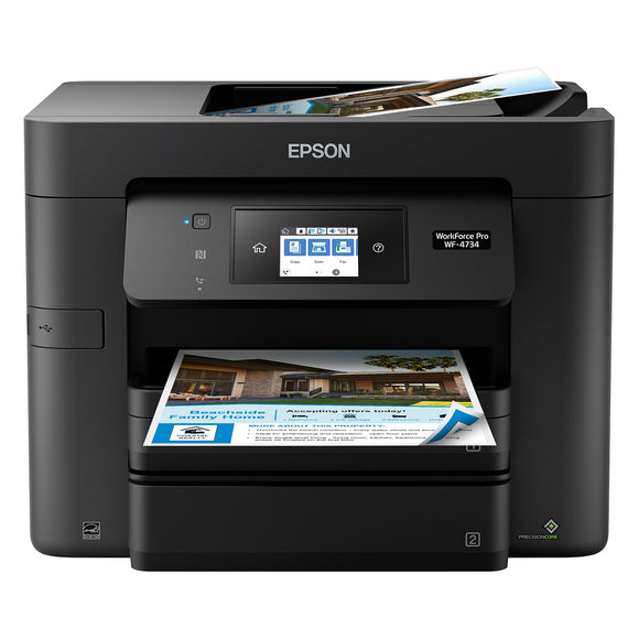 Epson WorkForce WF-4734 All-in-One Color Inkjet Printer