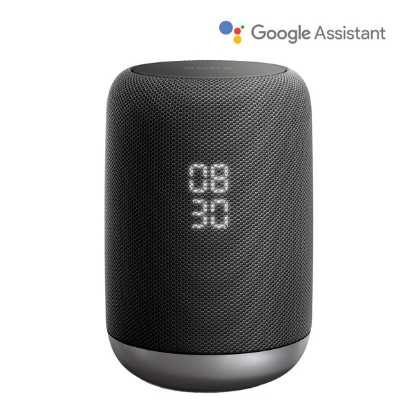 Sony LF-S50G Smart Speaker with Google Assistant, Black