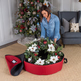 "32"" Wreath Storage Bag"