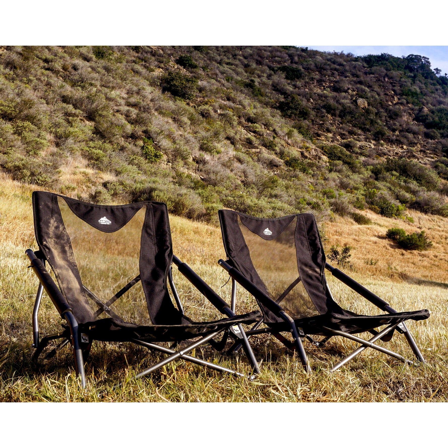 Marvelous Cascade Mountain Tech Low Profile Camp Chair 2Pk Biggmore Com Gmtry Best Dining Table And Chair Ideas Images Gmtryco