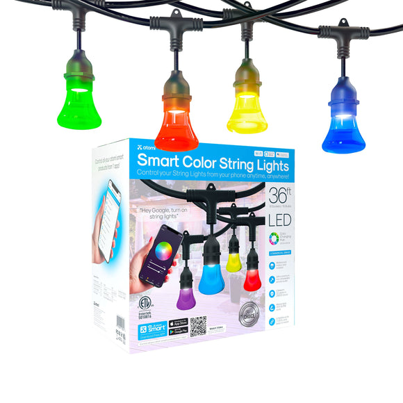 Atomi Smart LED Color String Lights