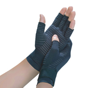 Copper Fit Hand Relief Compression Gloves, 1-pair