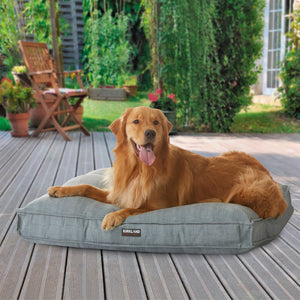 "Kirkland Signature 40"" Square Tufted Indoor/Outdoor Pet Napper, Solid"