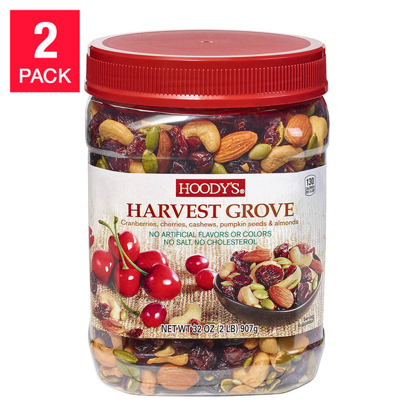 Hoody's Harvest Grove Trail Mix, 32 oz 2-pack