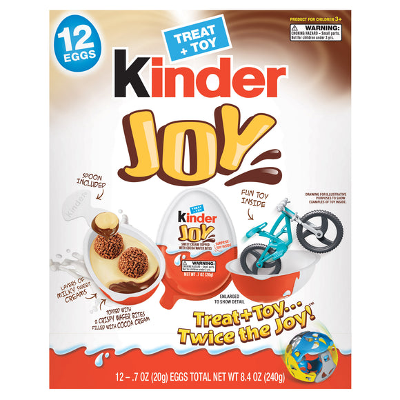 Kinder Joy, 0.7 oz., 12-count