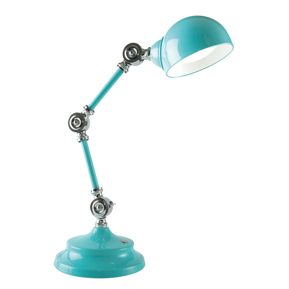 OttLite LED Parker Table Lamp - Blue