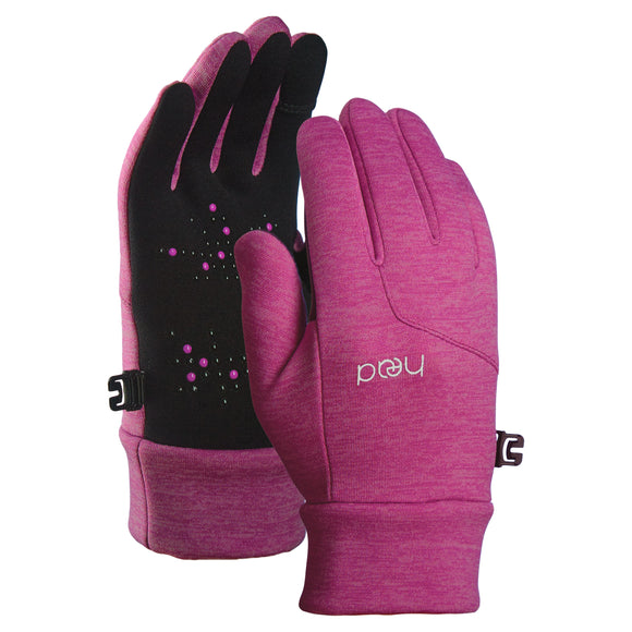 HEAD Kids' Touchscreen Gloves - Raspberry