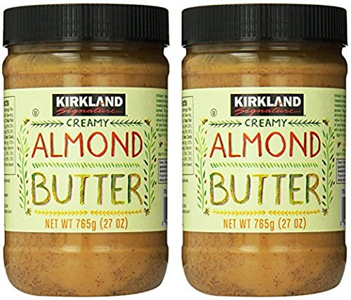 (2 PACK) Kirkland Signature Creamy Almond Butter 27oz Each