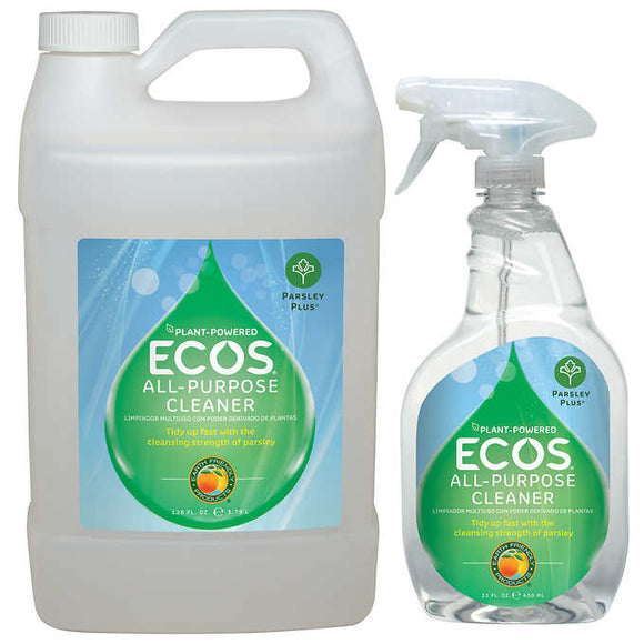 ECOS All-purpose Cleaner Parsley Plus 22 fl. oz. + 128 fl. oz. Refill