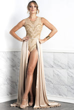 Load image into Gallery viewer, Isabel Cream Silk Skirt - BACCIO Couture