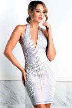 Load image into Gallery viewer, Wilma White Short Cocktail Dress - BACCIO Couture
