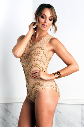 Isabel Cream Body - Bodysuits - BACCIO Couture