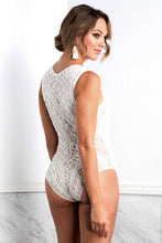 Load image into Gallery viewer, Isabel Painted White Body - Bodysuits - BACCIO Couture
