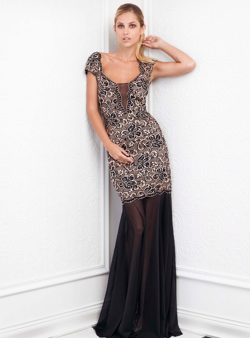 Anay Long Dress - BACCIO Couture