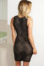 Load image into Gallery viewer, Emy Black Caviar Cocktail Dress - Short Dress - BACCIO Couture