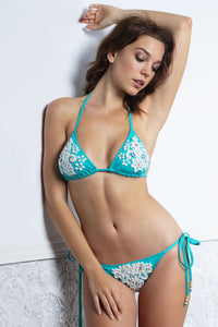 Kika Aqua Bikini and Top Set Swimwear - Beachwear - BACCIO Couture