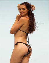 Load image into Gallery viewer, Linda Bikini Set Brown Leopard