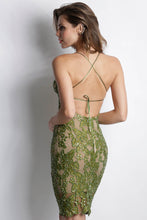 Load image into Gallery viewer, Maluz Mosh Caviar Short Dress - Cocktail Dress - BACCIO Couture