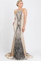 Maira Long Sequin Velvet. BACCIO Miami Fashion Dresses