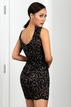 Load image into Gallery viewer, Milly Stretch Lace Black Cocktail Dress - Short Dress - BACCIO Couture