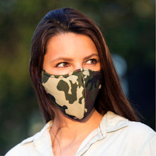 Load image into Gallery viewer, Face Mask Camouflage, washable face mask, reusable face masks, unisex face mask - BACCIO Couture