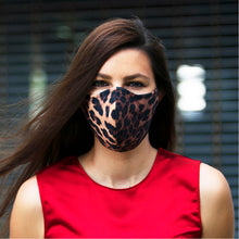 Load image into Gallery viewer, Leopard face masks, washable face mask, reusable face masks, Unisex face mask - BACCIO Couture