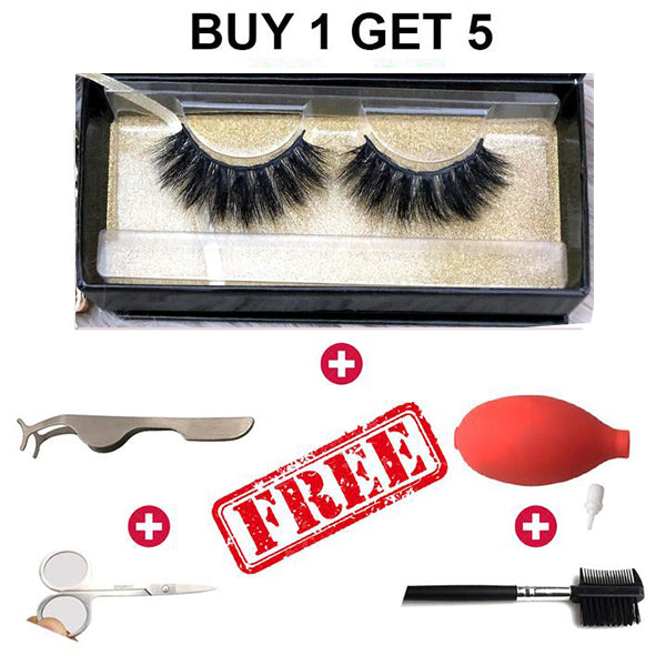 High Grade 3d Mink False Eyelashes-Use Many Times