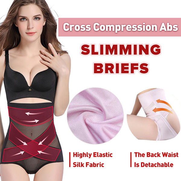 Cross Compression Abs Slimming Briefs