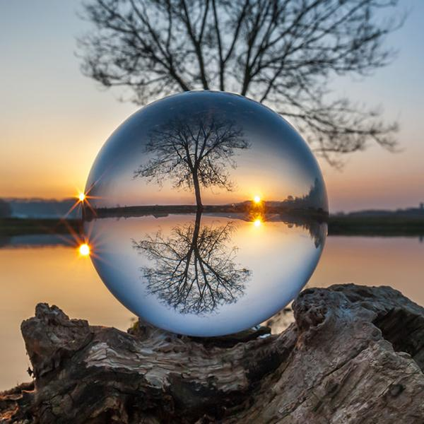 Crystal Photography Photo Prop Background Clear Lensball