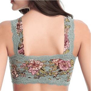 Wire-Free Full Coverage Lace Bra
