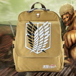 ATTACK ON TITAN Anime Cosplay Bag Backpack Waterproof Bag