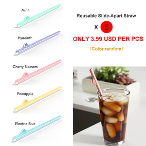 c1c41faa The Reusable Slide-Apart Straw for Easy Cleaning . Revolutionary slide- a-part