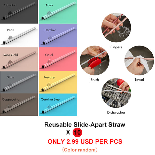 73d2deef The Reusable Slide-Apart Straw for Easy Cleaning . Revolutionary ...