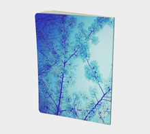 Blue Spring Notebook (large)