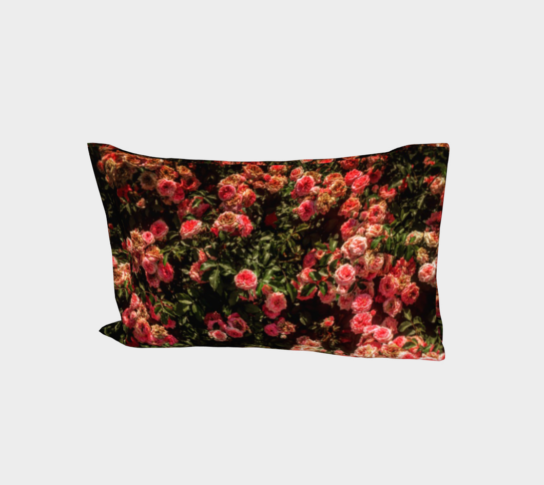 Rose Garden  Bed Pillow Sleeve