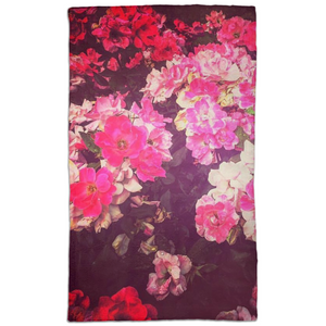 Night Roses Hand Towel
