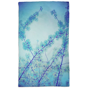 Blue Spring Hand Towel