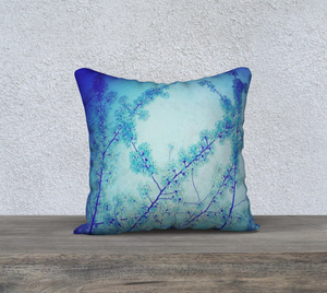 Blue Spring Pillow Case I