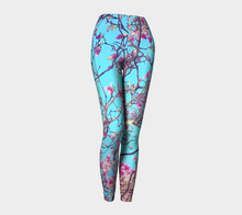 Pink Magnolias Leggings