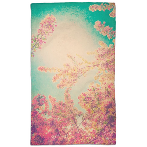 Pink Spring Hand Towel