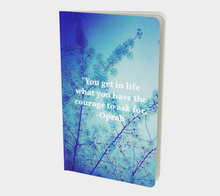 Blue Spring + Oprah Quote Journal