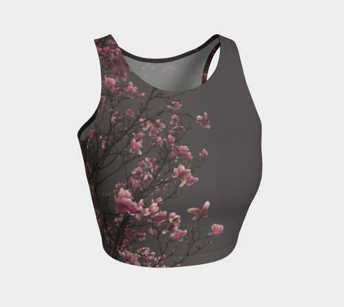 Magnolias Athletic Crop Top