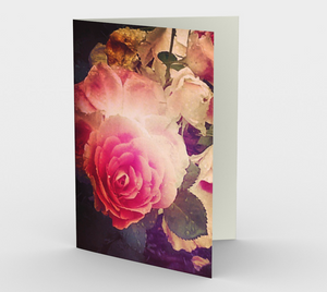 """Roses"" Cards (set of 3)"