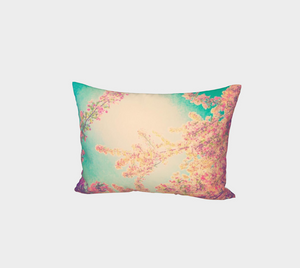Pink Spring Bed Pillow Sham