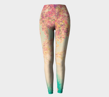 Pink Spring Leggings