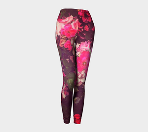 Night Roses Leggings