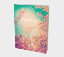 Pink Spring + Feminist Notebook (large)